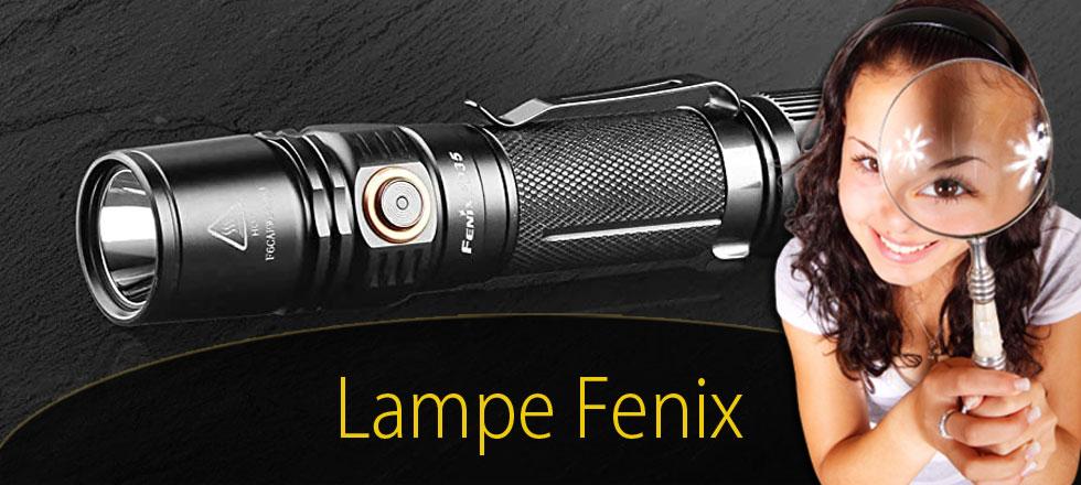 lampe torche fenix